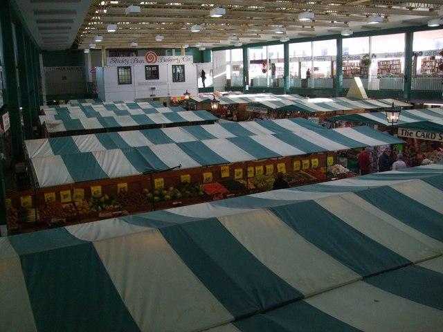 The Market Hall in Shrewsbury