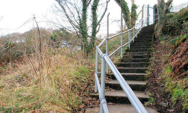 Steps near Helen's Bay (1)
