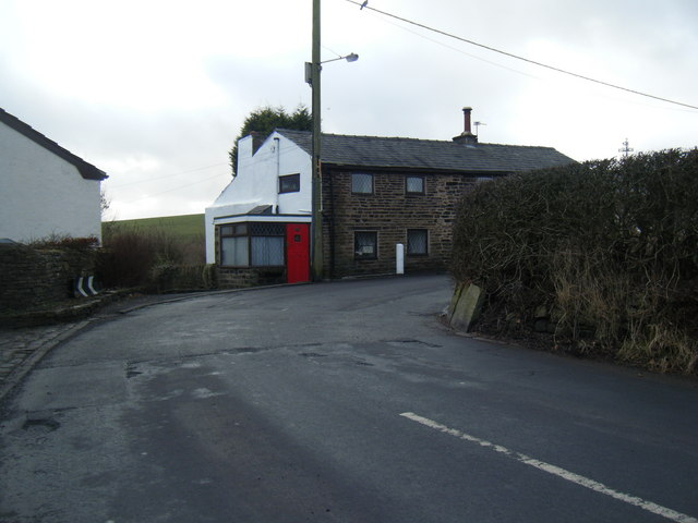Bradshaw Road sharp bend