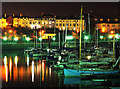 J5081 : Bangor Marina at night by Rossographer