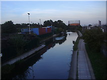 TQ2282 : Grand Union Canal, College Park by David Howard