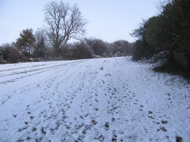 Sirhowy Valley Walk Snow