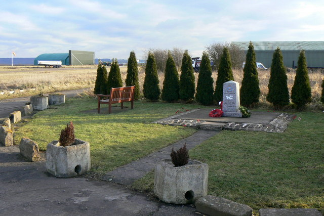 War Memorial at Langar Airfield