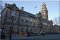 SP0198 : Walsall Town Hall by Pramal Lad