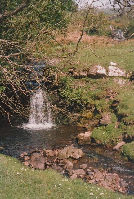 Waterfall in Dowgill