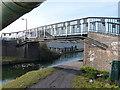SO9591 : Pitchfork Bridge, Tipton by Richard Law