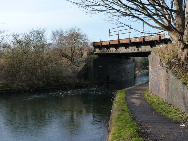 Coneygree Rail Bridge, Tipton