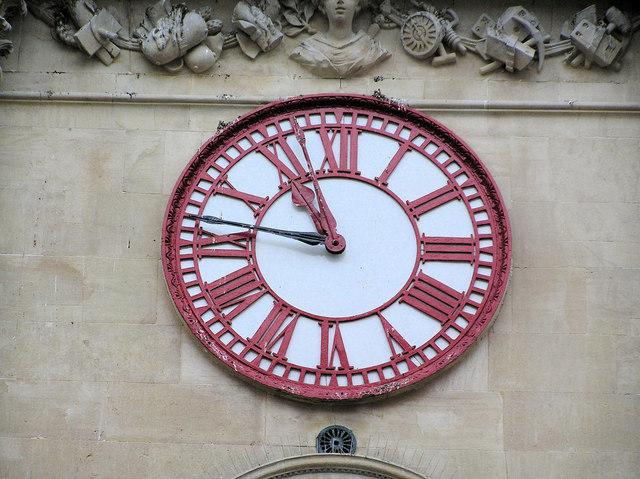 Corn Exchange Clock  Bristol