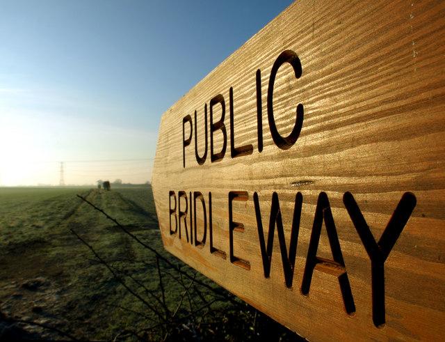 Bridleway to Bilton