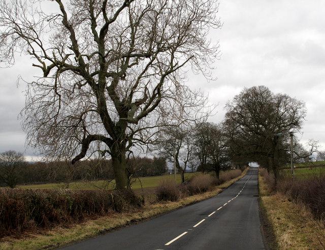 B6321 north-east of Corbridge