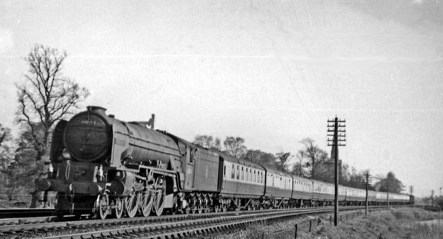 Offord D'Arcy:  Down East Coast Main Line express