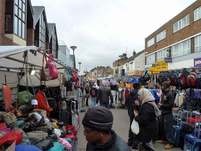 Street market, Walthamstow High Street