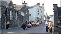 SD3598 : Main Street and the Sun public house by Alan Walker