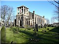 SE1835 : St Luke's Church, Eccleshill by Humphrey Bolton
