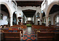 TQ2490 : St Mary-at-Finchley, Hendon Lane - East end by John Salmon