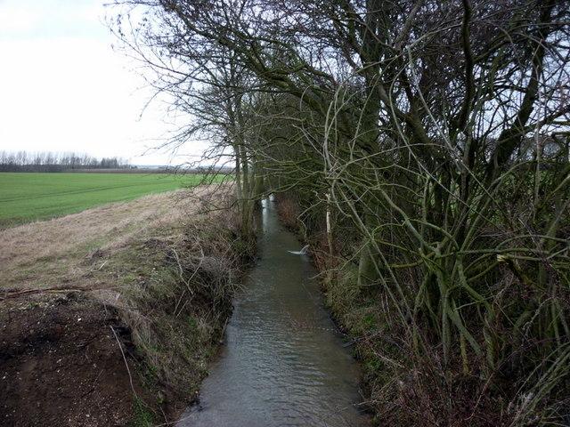 Wellsprings  Drain near Southburn
