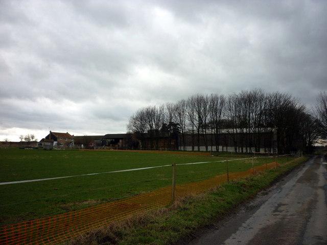 Neswick Farm on Neswick Lane towards Bainton by Ian S