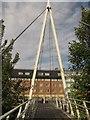 NZ2742 : Penny Ferry Footbridge by Richard Webb