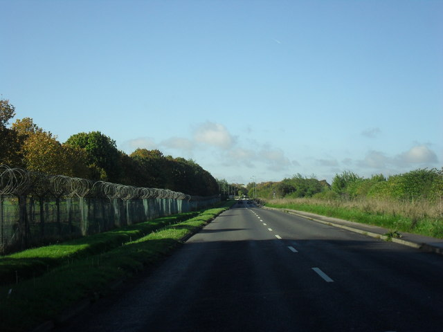 Road from Brize Norton to Carterton