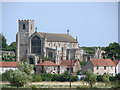TG0443 : Cley-next-the-Sea St Margaret's church by Adrian S Pye