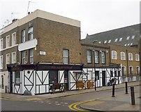 "TQ3084 : ""The Jolly Sisters"" public house, London N7 by Jim Osley"