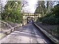 SJ4094 : Road bridge in Croxteth Country Park by Raymond Knapman