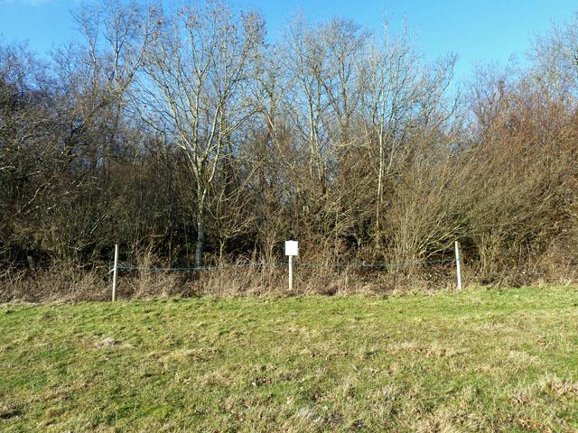 Site of Lancaster bomber DV382 crash, 13/02/1944