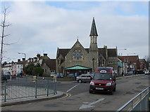 TM1714 : Trinity Wesleyan Church, Pier Avenue, Clacton by PAUL FARMER