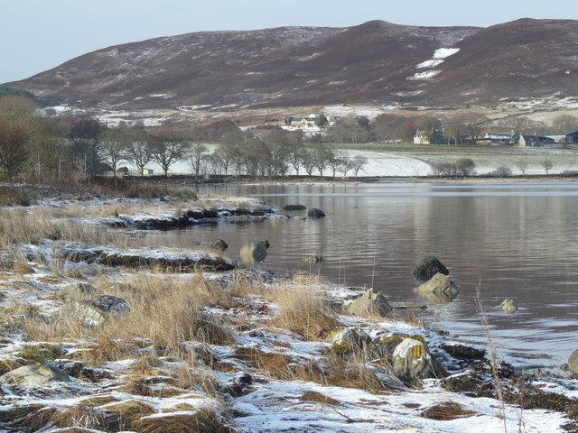 Loch Fleet shoreline
