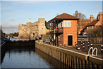 SK7953 : Town Lock by Richard Croft