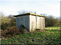 TG0526 : Guestwick railway station ( converted) - platelayer's hut by Evelyn Simak
