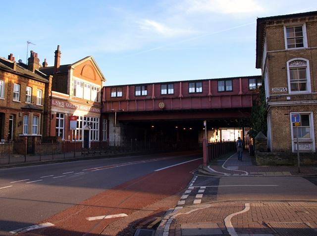 Queenstown Road in Battersea