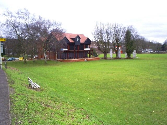 Hemel Hempstead Town Cricket Club pavilion