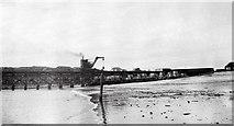 NG8490 : Steam crane on Admiralty Pier at Mellon Charles, 1963 by Donald MacDonald