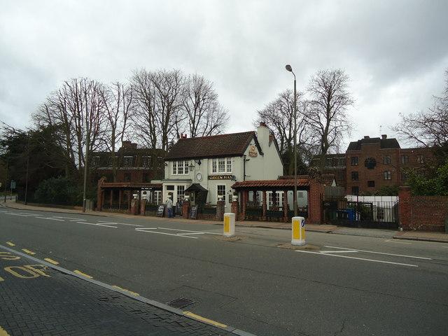 The Green Man public house, Putney Heath