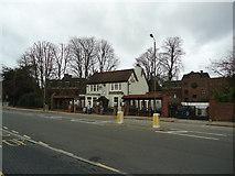 TQ2374 : The Green Man public house, Putney Heath by Stacey Harris
