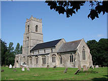 TG0826 : Wood Dalling St Andrew's church by Adrian S Pye