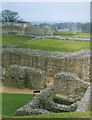 SU1332 : Ruins of Old Sarum Castle by Stephen Craven
