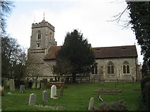TQ2255 : St. Peter the Apostle's Church, Walton-on-the-Hill by Richard Rogerson