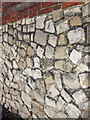 TQ7451 : Ragstone wall detail by Oast House Archive