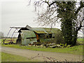 TM3196 : Dilapidated Nissen hut at Gerrin's Farm, Seething by Adrian S Pye