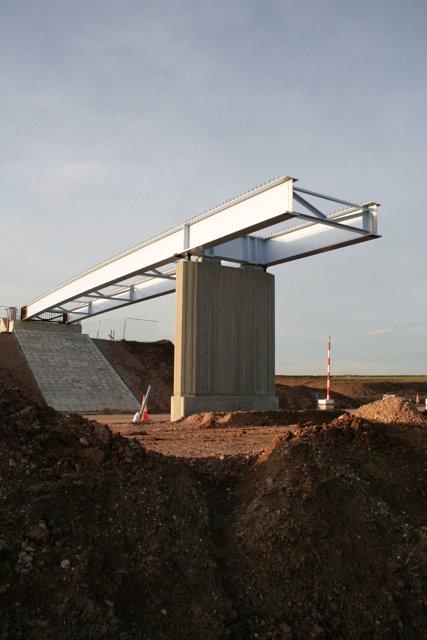 Half built bridge