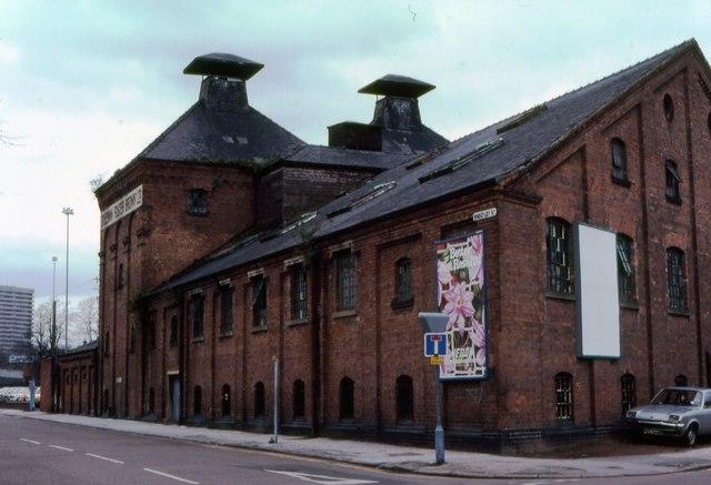 Wheatley Street Flour Mills, Coventry, 1983