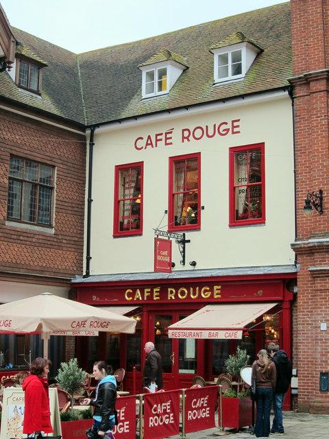 Café Rouge, Canterbury