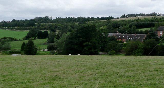 Farmland near Tardebigge, Worcestershire