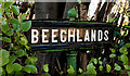 J3371 : Beechlands sign, Belfast by Albert Bridge
