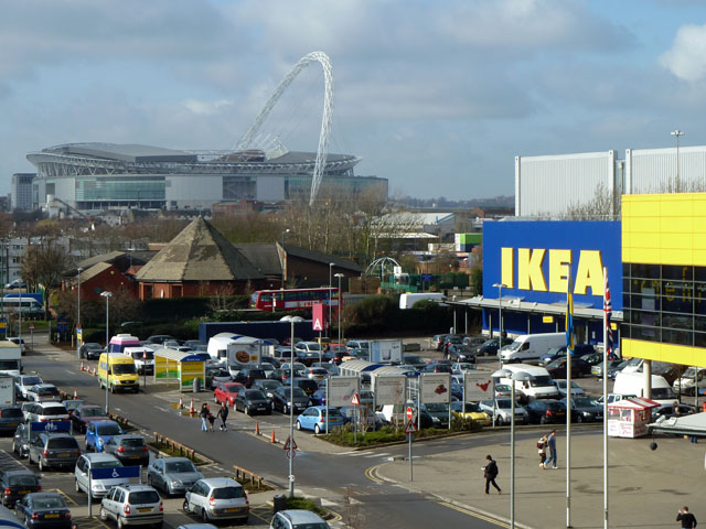 Ikea wembley robin webster geograph britain and ireland