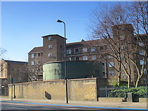 TQ3075 : Clapham North deep shelter (north), Clapham Road, SW4 (2) by Mike Quinn