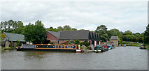 SO9969 : Tardebigge Wharf, Worcestershire by Roger  Kidd