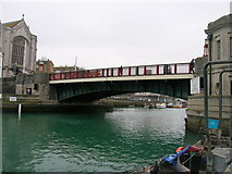 SY6778 : Town Bridge, Weymouth by JThomas